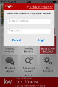 kw app create account
