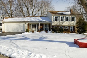 cold weather curb appeal